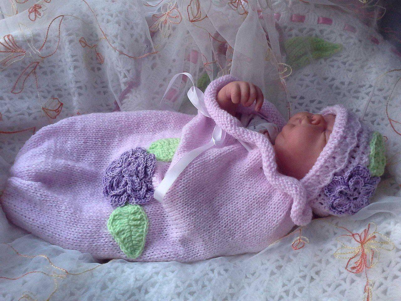 Вязанные для новорожденных картинки