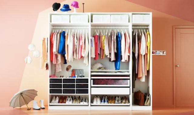 Ikea Pax Griffe 9 organisation hacks for the wardrobe organizing storage ideas