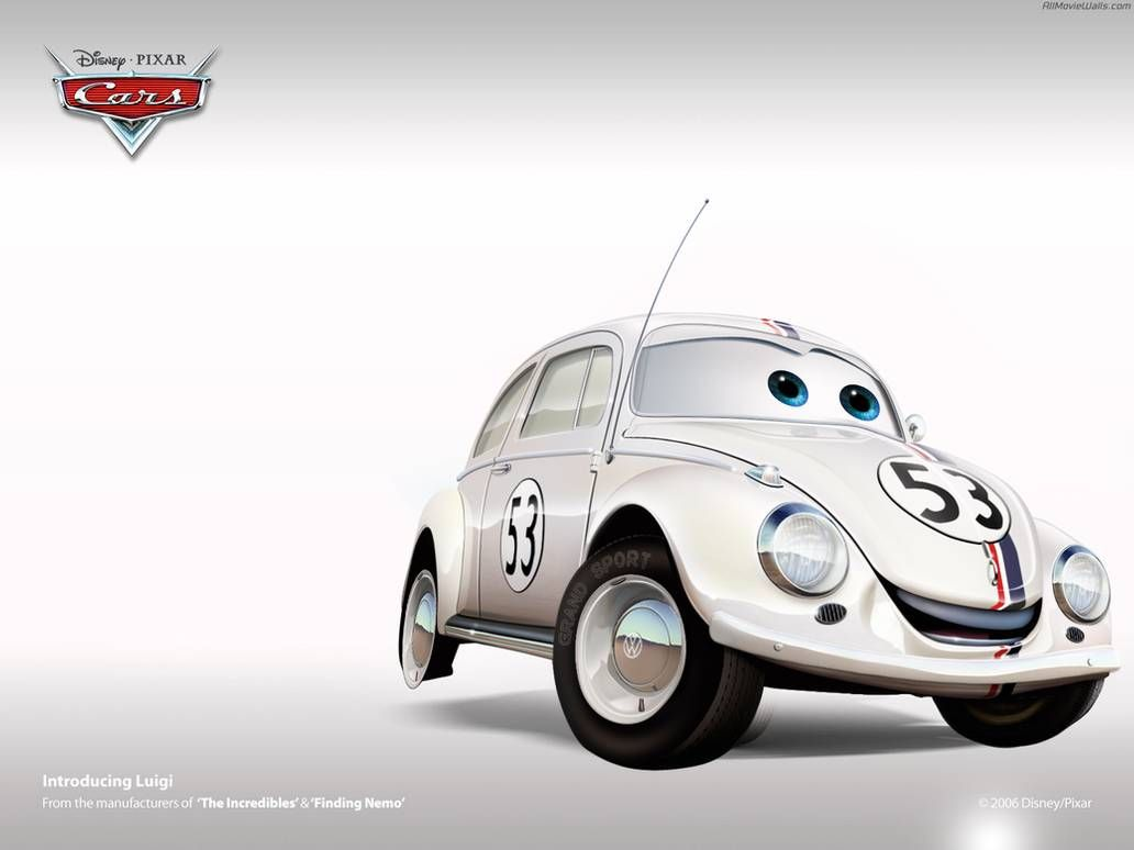 Herbie By Dr Gofast On Deviantart Cars Movie Pixar Cars Disney Cars [ 774 x 1032 Pixel ]