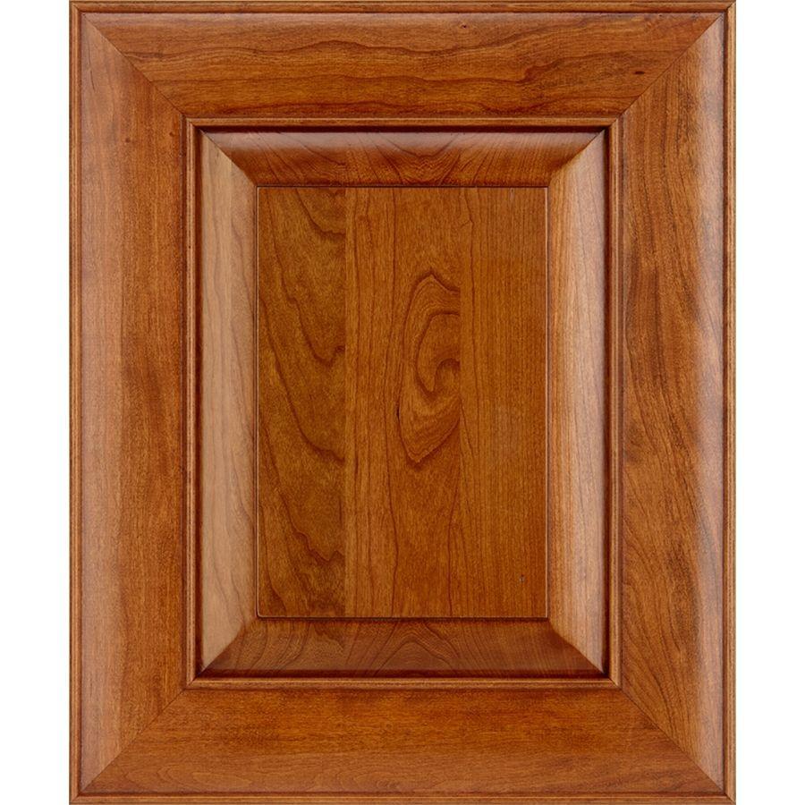 Schuler Cabinetry Verona 17.5-In X 14.5-In Pecan Cherry Square ...