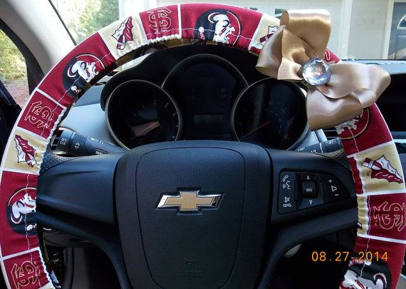 Steering Wheel Cover Florida State University Seminoles Car ...