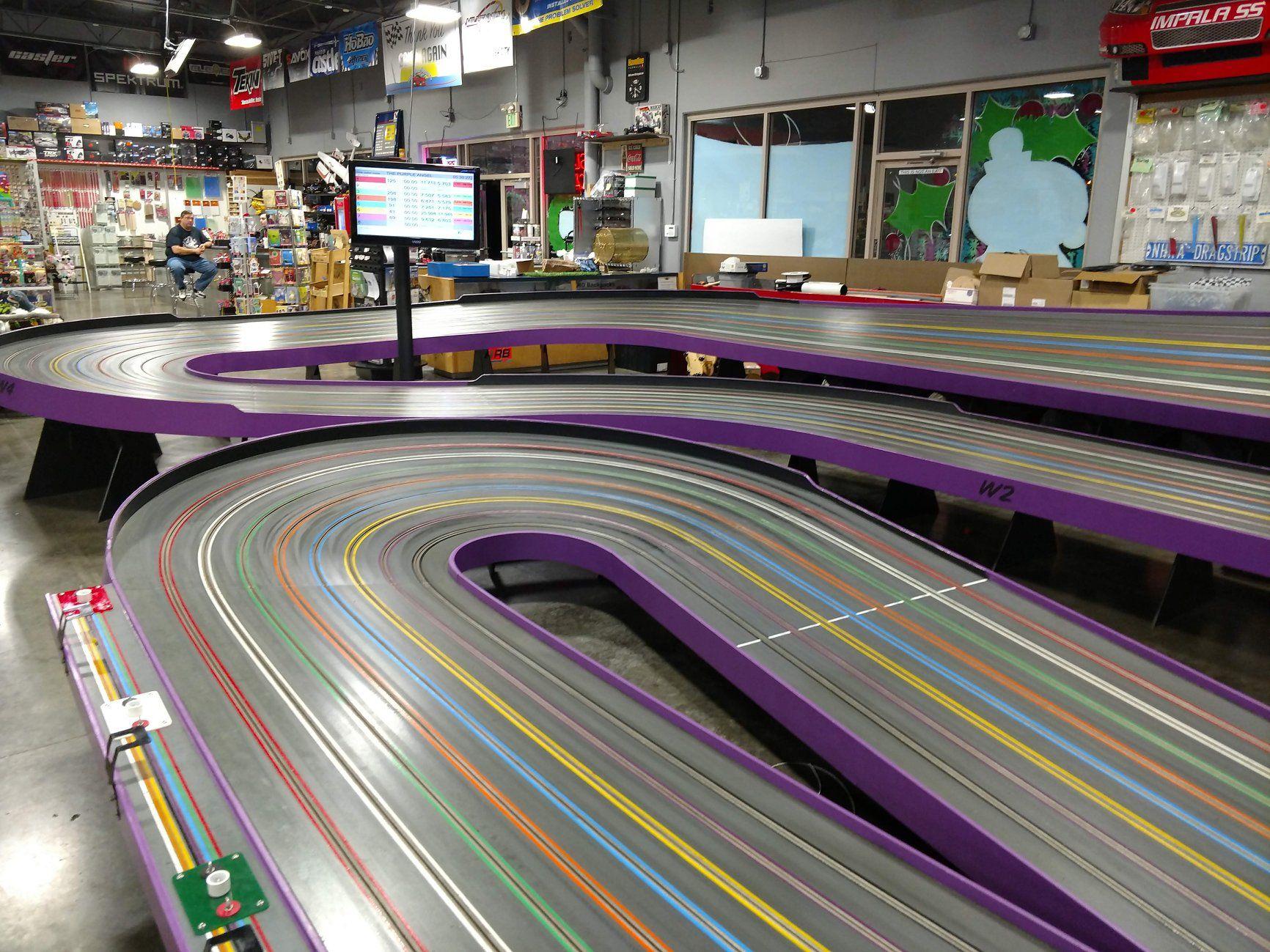 The Purple Angel Fast Track Hobbies Slot Car Tracks Slot Cars Car Model