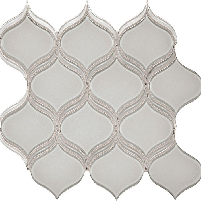 Bliss Glass - Arabesque - Mist - On Sale - $16.79 Per Square Foot ...