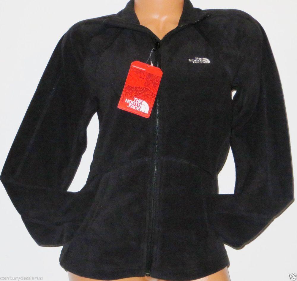 09db6cb24 Details about Women's The North Face sz L Fleece Jacket Full Zip ...