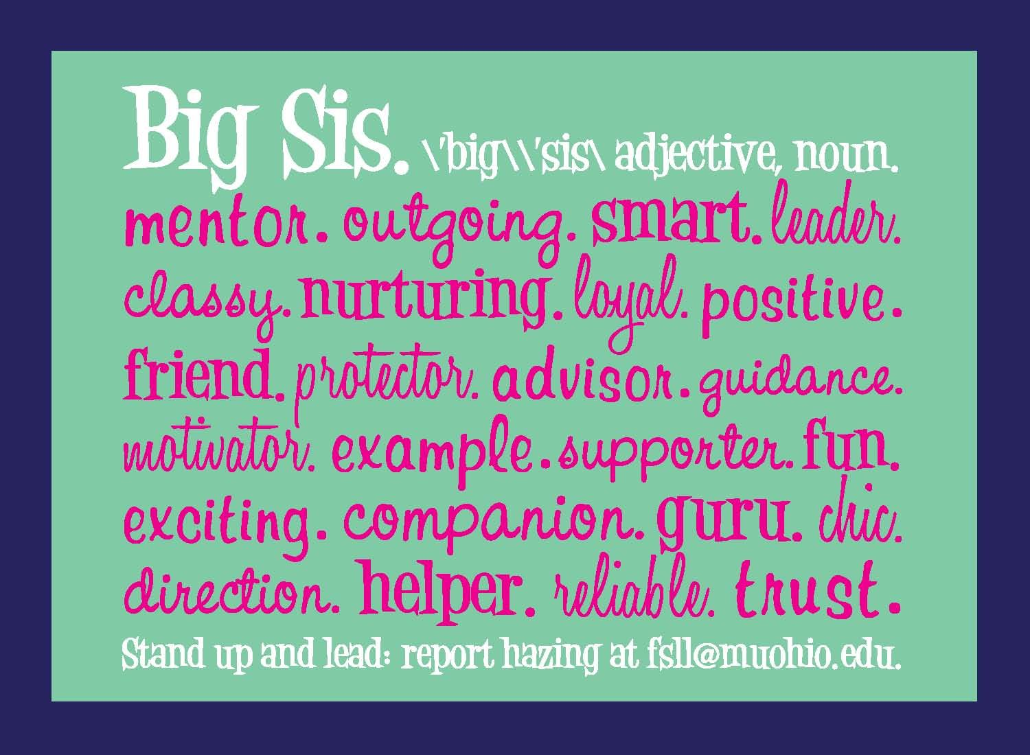 Love My Big Sister Quotes This Is The Kind Of Big I Strive To Be For My Little Biglittle
