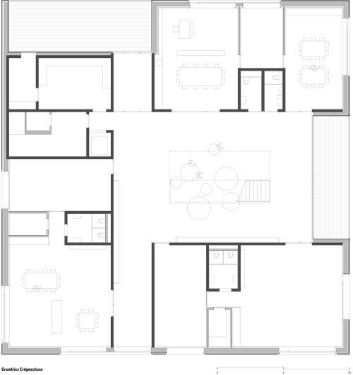 Kindergarten Susi Weigel Grundriss, Architektur, Städtebau
