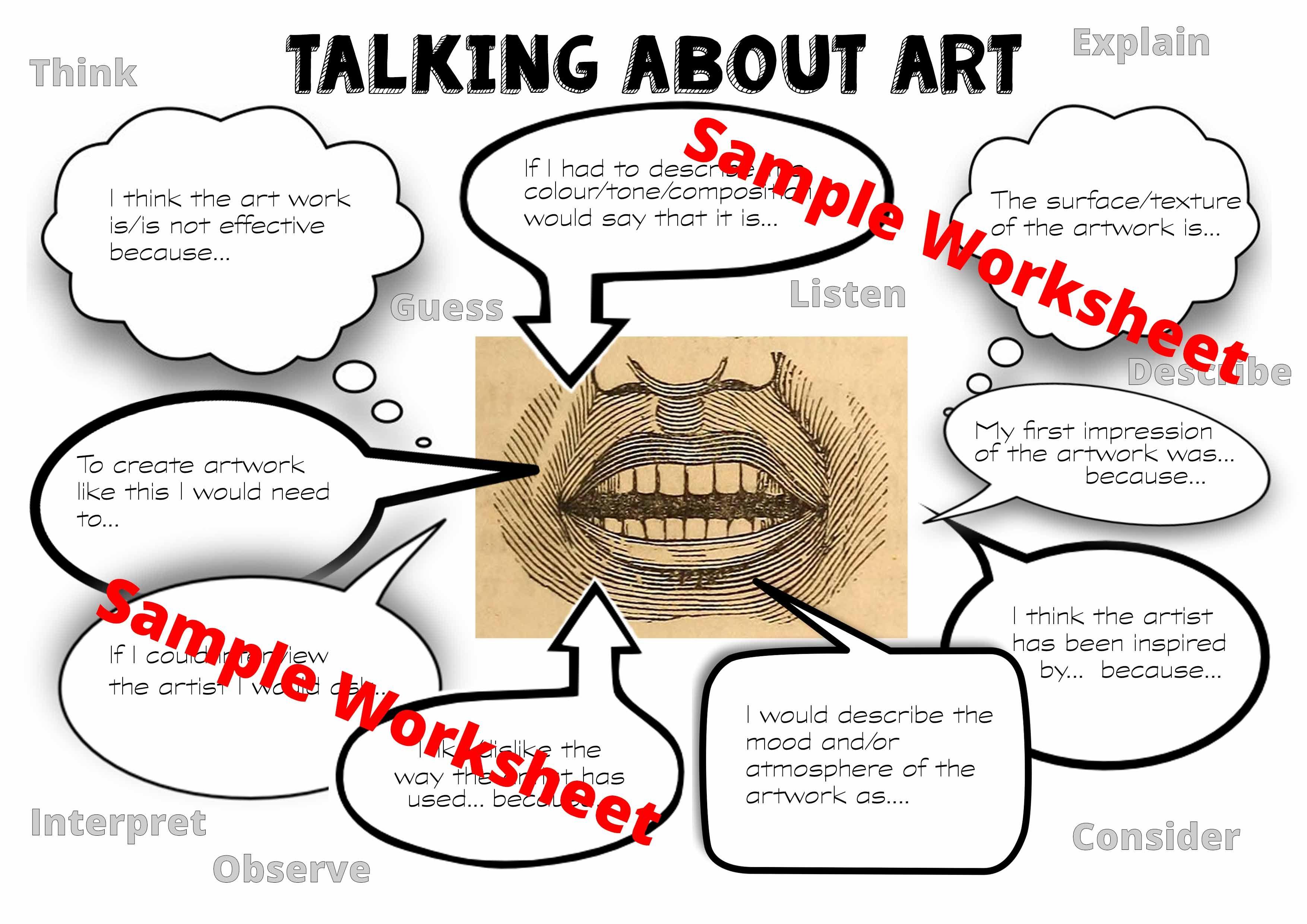Worksheet Giving Criticism