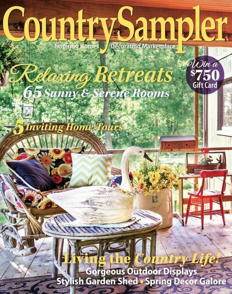 Country sampler magazine subscription in 2020 country