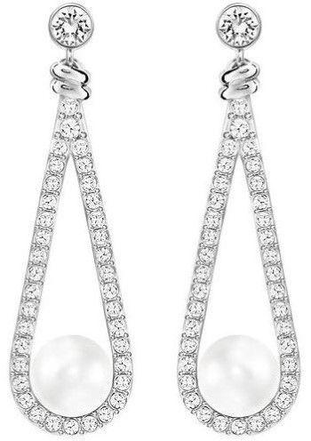 37e57100583f7 Swarovski Enlace Pierced Earrings - 5198690 | Products