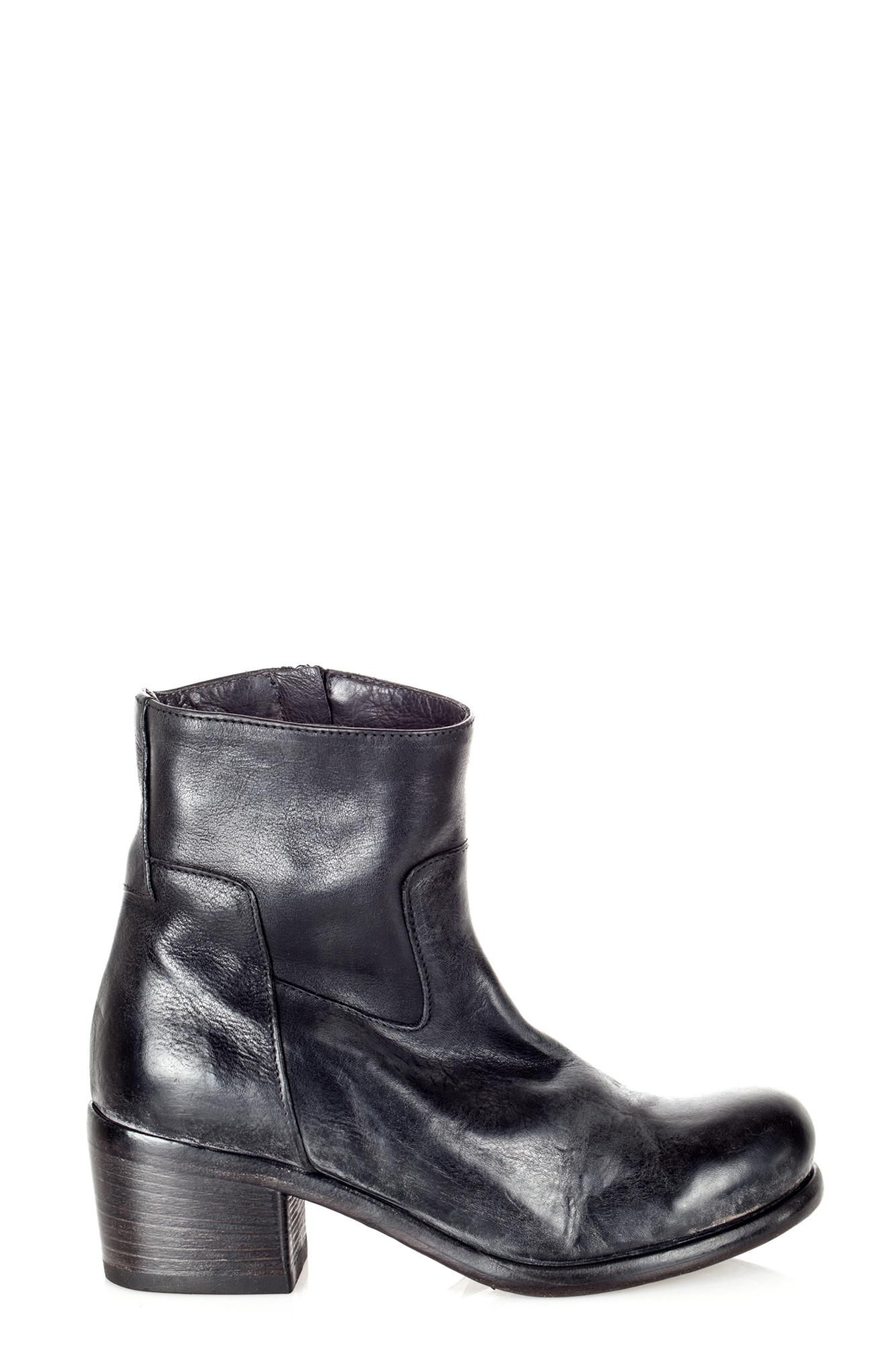 MOMA - LOW BOOTS - 240594 - BLACK - COMME TOI http://www.commetoi.it/eshop/index.php