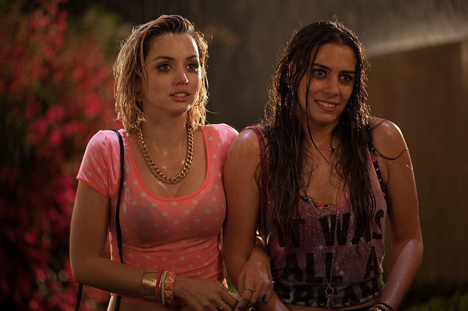 Ana De Armas And Lorenza Izzo In Knock Knock 2015 Knock Knock Knock Movie Newest Horror Movies