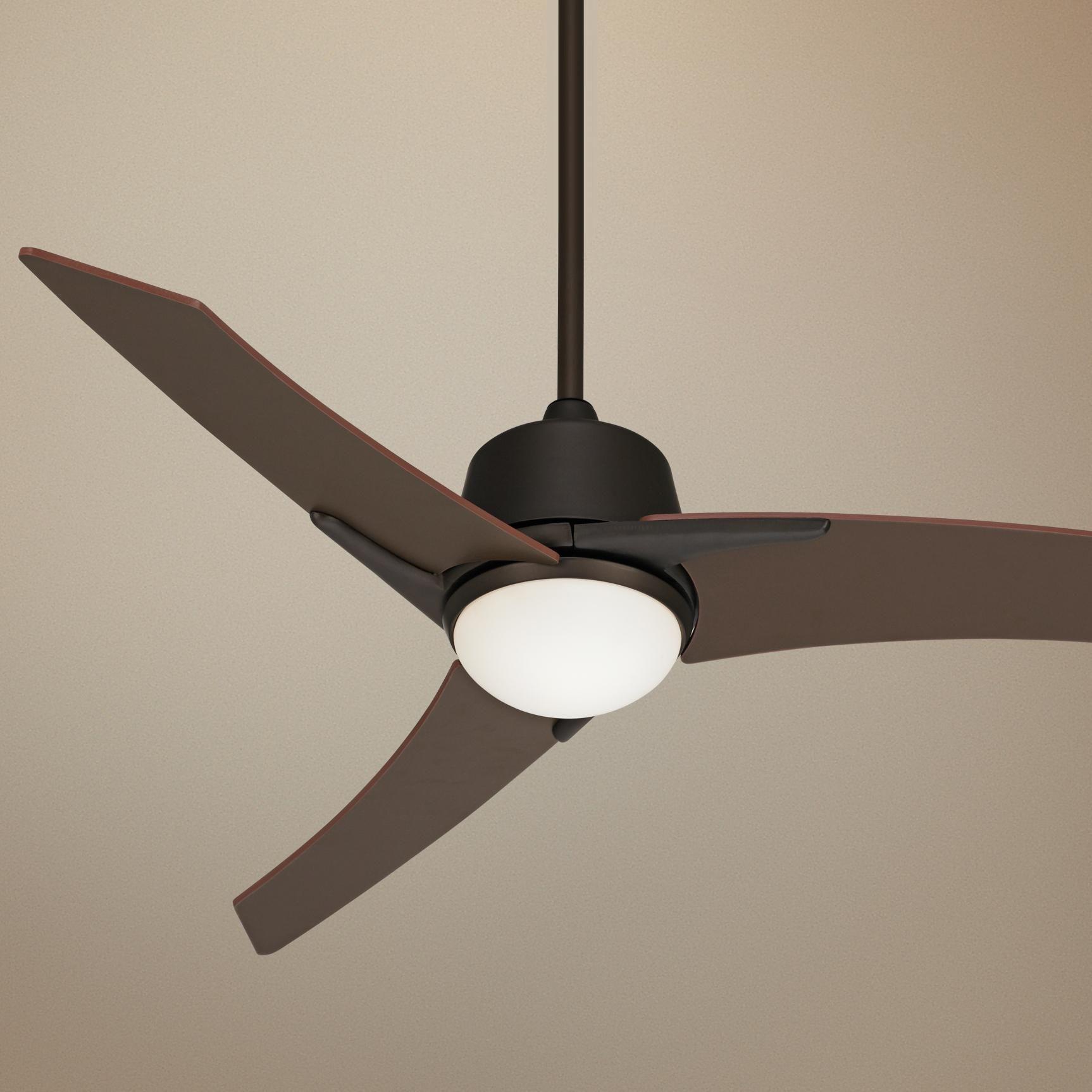 48 Casa Vieja Matrix Oil Rubbed Bronze Ceiling Fan U9636 Lamps Plus Ceiling Fan Bronze Ceiling Fan Modern Ceiling Fan