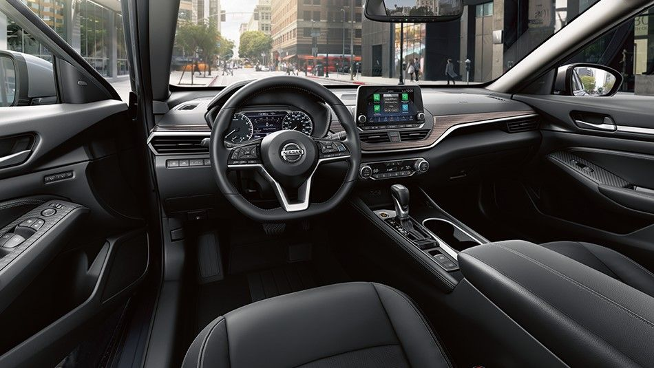 Every single detail in the Nissan Altima has been crafted