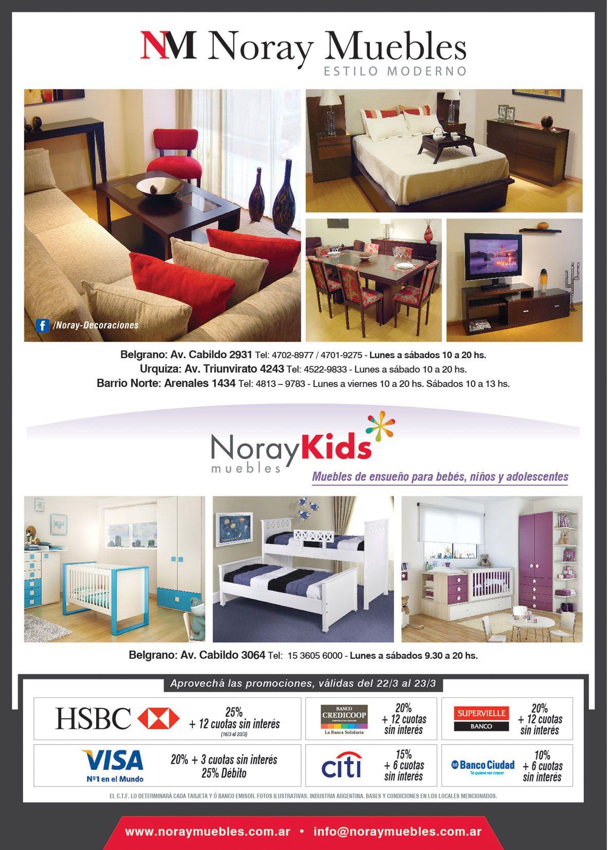Dise O Gr Fico Y Pauta Publicitaria Para Nuestro Cliente Noray  # Muebles Cabildo