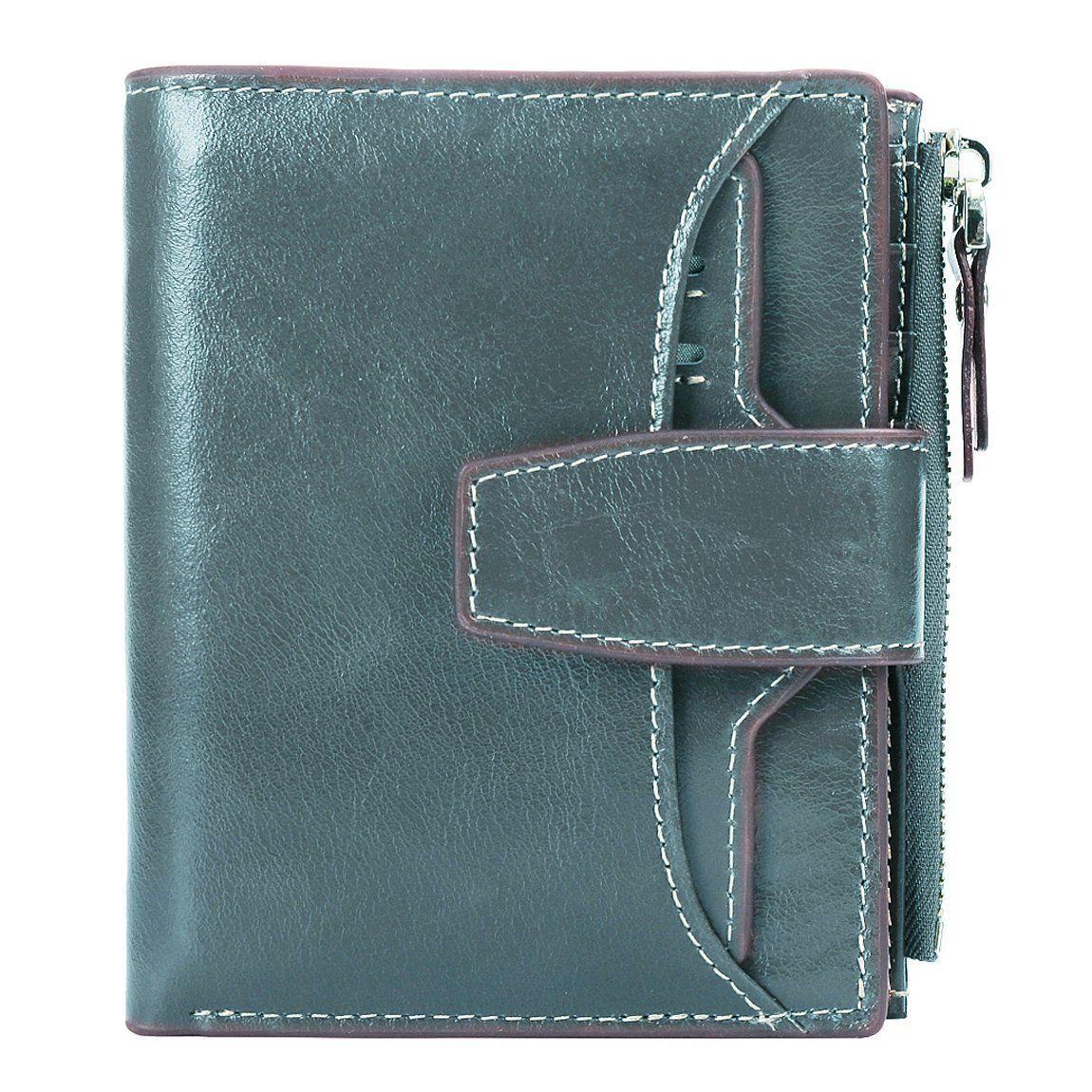 Women RFID Blocking Vintage Organizer Wallet for Ladies Small Purse with Mult...