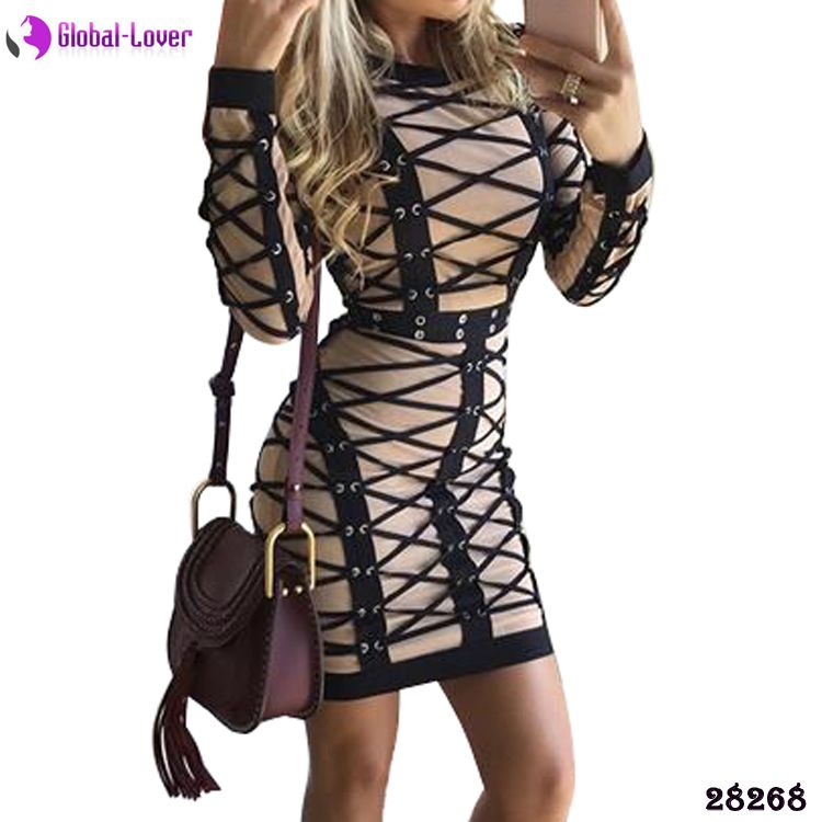 Club Outfit Porn - Women sexy bodycon dresses party night club dress short tight dress porn