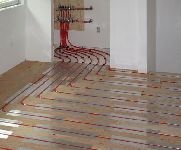 Embassy Ambassador Boiler Installation With Pex Tubing For Radiant