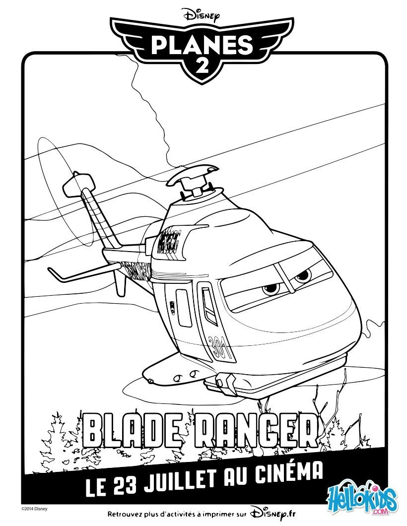 Blade Ranger coloring page | our kids | Pinterest | Blade, Template ...