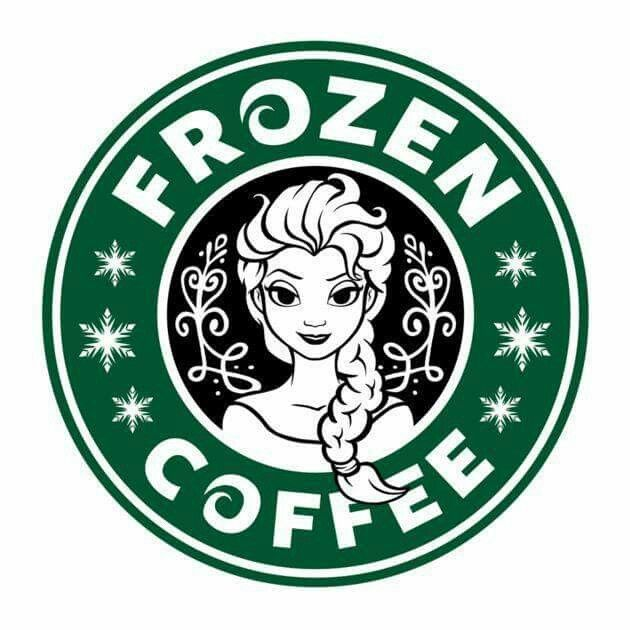 Frozen Coffee Disney Starbucks Disney Tshirts Starbucks Logo