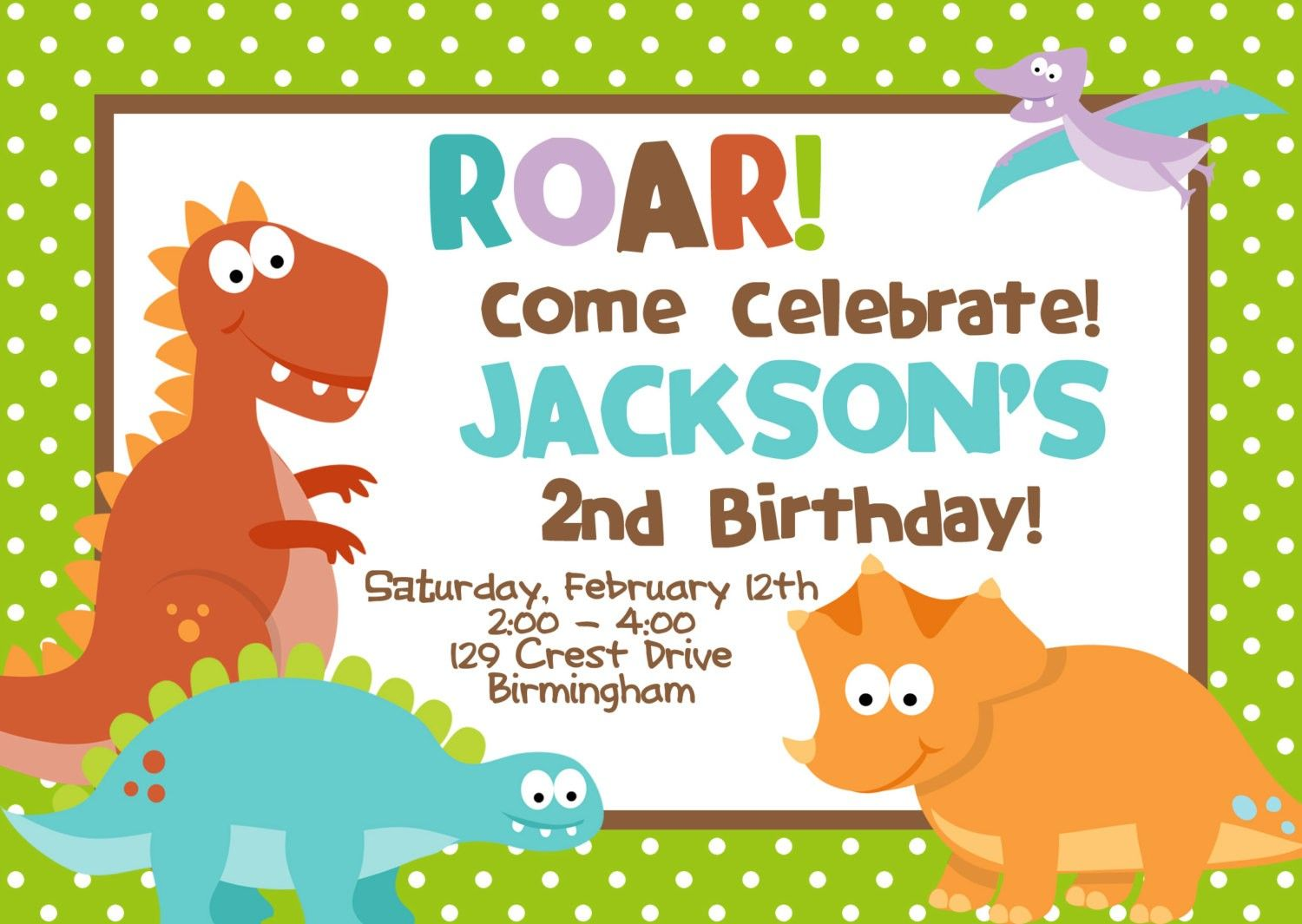 dino dig party invitations dinosaur birthday party invitation
