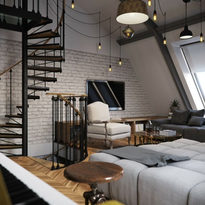 1001 ideas de originales escaleras de caracol con mucho estilo casa pinterest. Black Bedroom Furniture Sets. Home Design Ideas