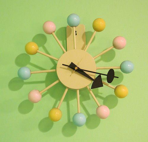 F W Woolworth S Kit Ball Clock At Googietime Clock Modern Love Retro Futurism