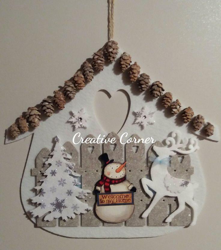 Decorazioni Natalizie In Feltro Pinterest.Risultati Immagini Per Pinterest Natale Feltro Feltro Natale