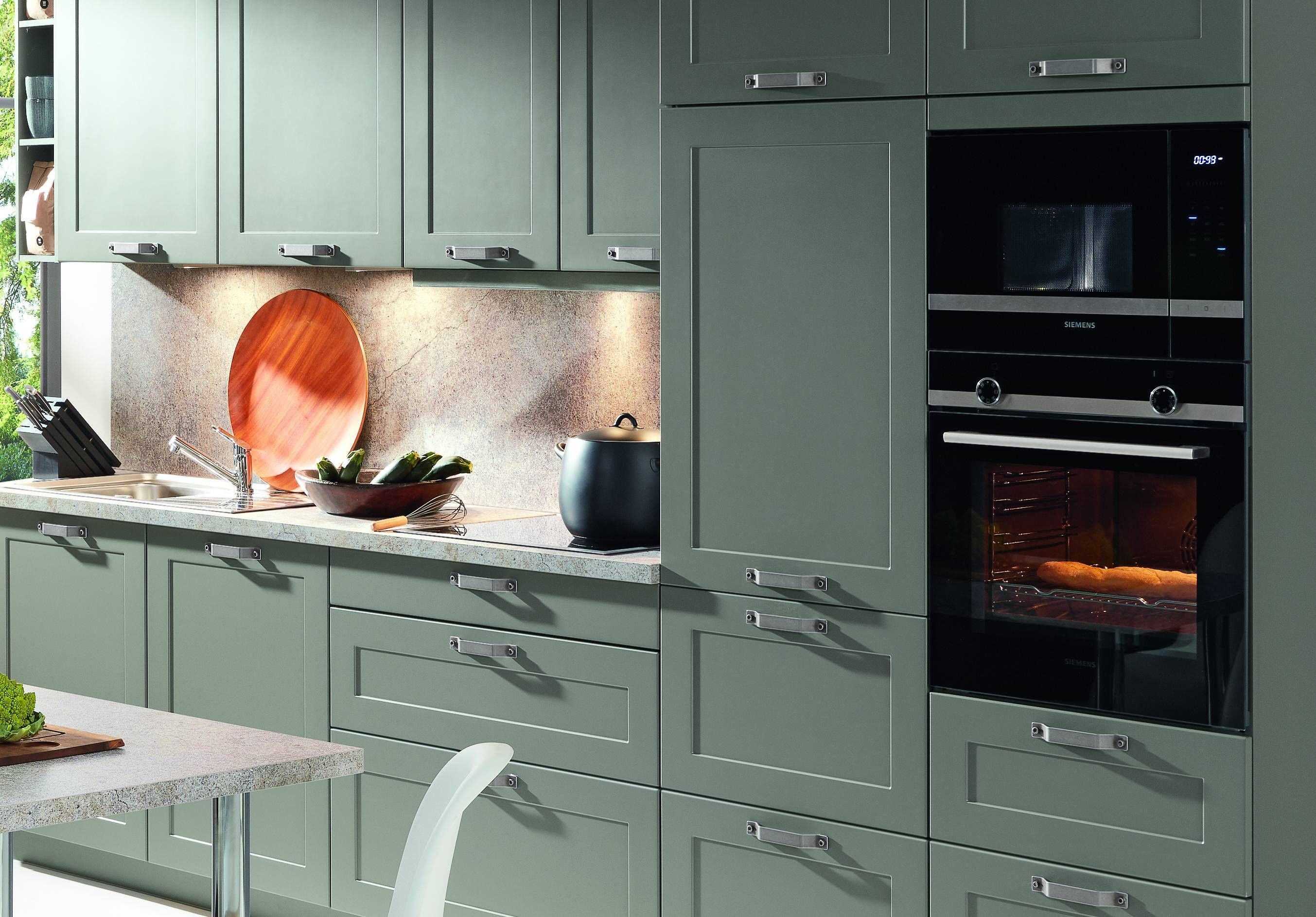 Kurze Breite Griffe Von Bauformat In Einer Kuchenzeile Mit Bildern Kuchengalerie Kuche Kuchen Inspiration