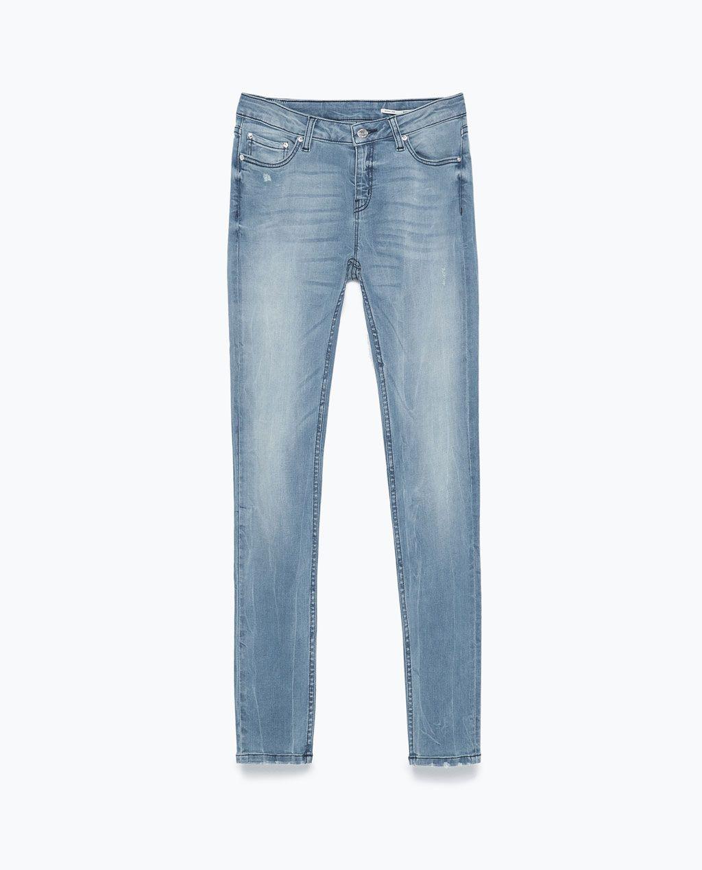 b27a06efcb SUPERSKINNY JEANS - Jeans - WOMAN   ZARA Czech Republic   ¸Z.A.R.A. ¸