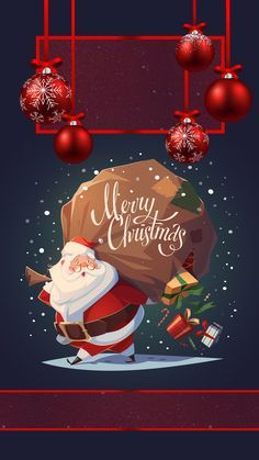 Pin By L On Holiday Background Merry Christmas Wallpaper
