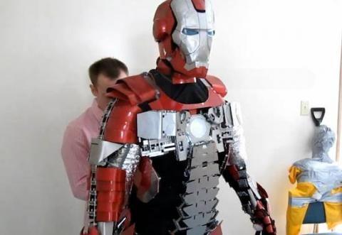 Un fan crea su propia armadura de Iron Man