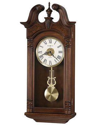 Howard Miller Teressa Chiming Pendulum Wall Clock Westminster Or Ave Maria
