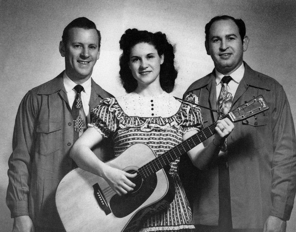 Johnnie Wright Kitty Wells And Jack Anglin Ca 1950