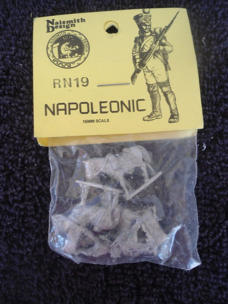 Naismith #RN19 15mm Napoleonic Horse & Soldiers White Metal Military Figures #Naismith