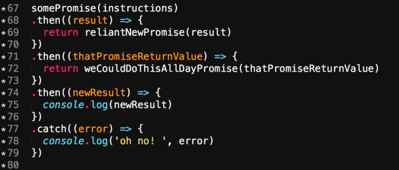 No human is an island, and no chunk of code, either  Async/Await is