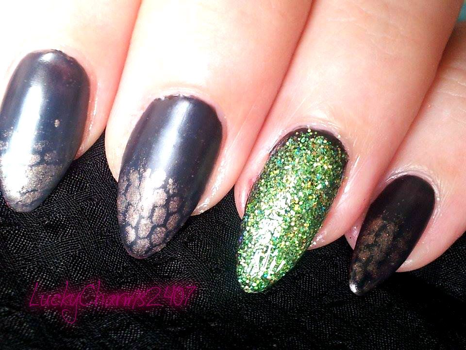 Maleficent Nail Art | Nail Art | Pinterest | Maleficent nails