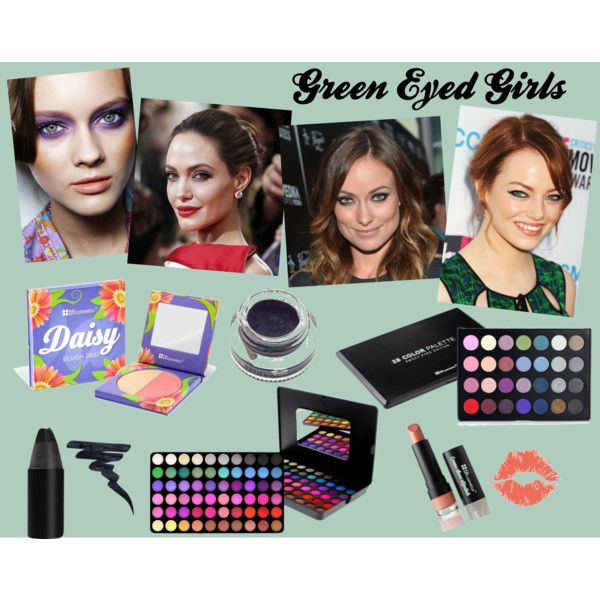 """Green Eyed Girls"" by bhcosmetics on Polyvore"