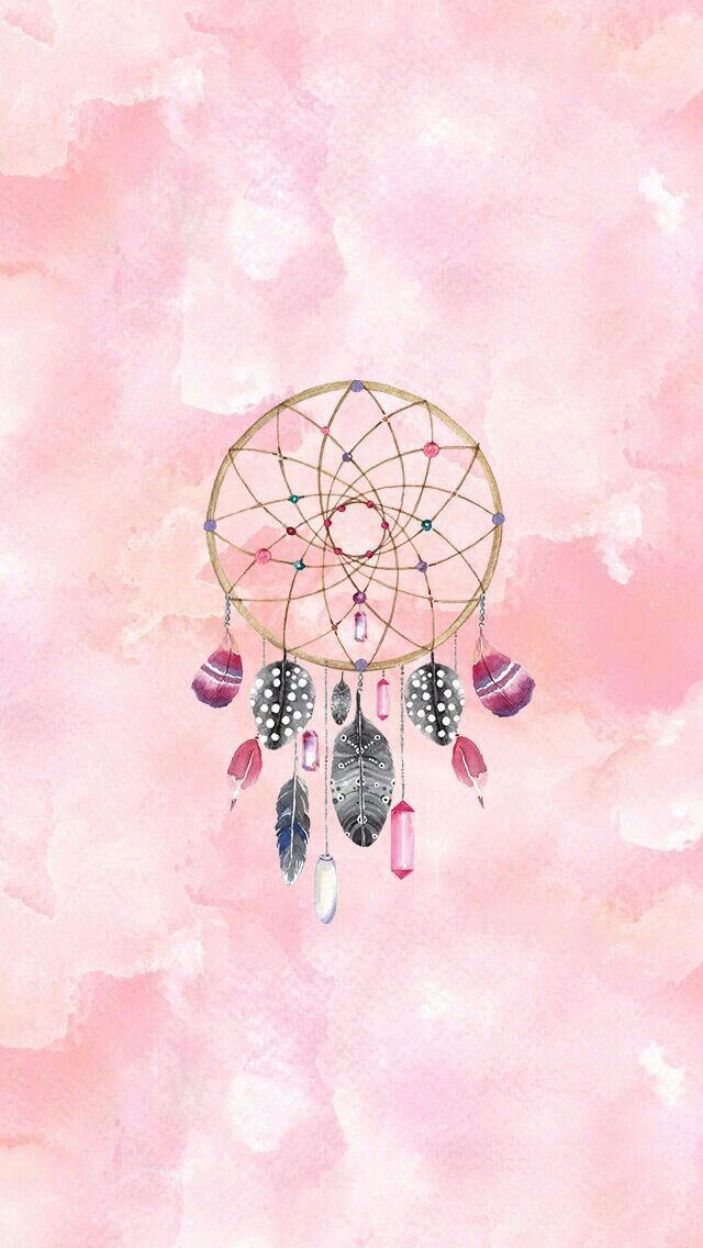 dreamcatcher wallpaper by artist unknown art pinterest cran attrape et attrape r ve. Black Bedroom Furniture Sets. Home Design Ideas