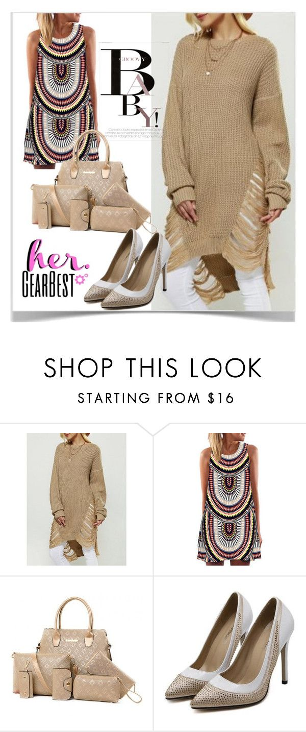 """GearBest Lady"" by kiveric-damira ❤ liked on Polyvore featuring November and gearbest"