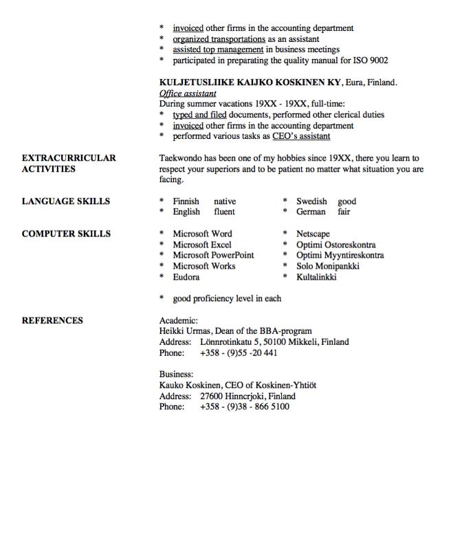 Transportation Specialist Resume Sample Resumesdesign Resume Sample Resume Templates Resume Template Examples