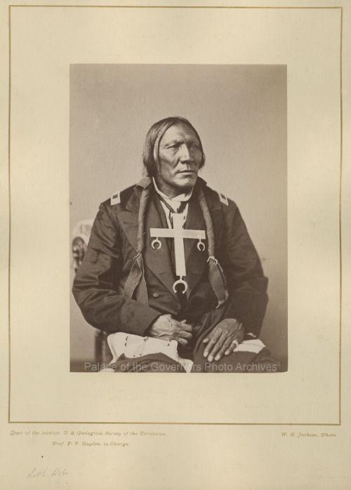 Little Robe Cheyenne Chiefphotographer William Henry Jacksondate