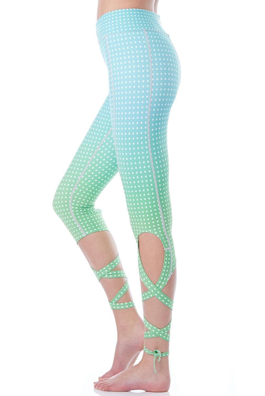 b5616122487e2e Flexi Lexi Clothing Flexi Dancer Legging in Polka Dots Green Ombre ...