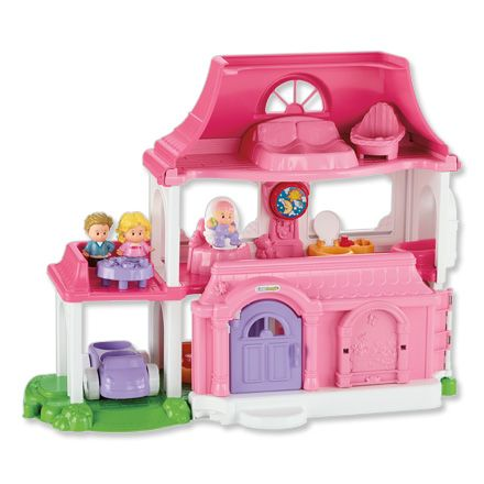 fisher price huis - She love's to play with this house