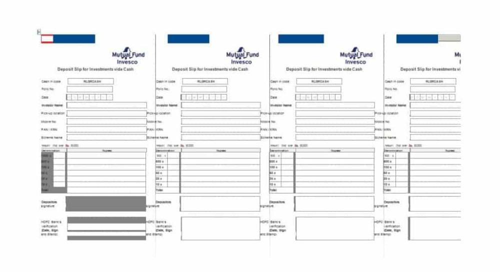 Simple Deposit Slip Templates Templates Survey Template Newspaper Template