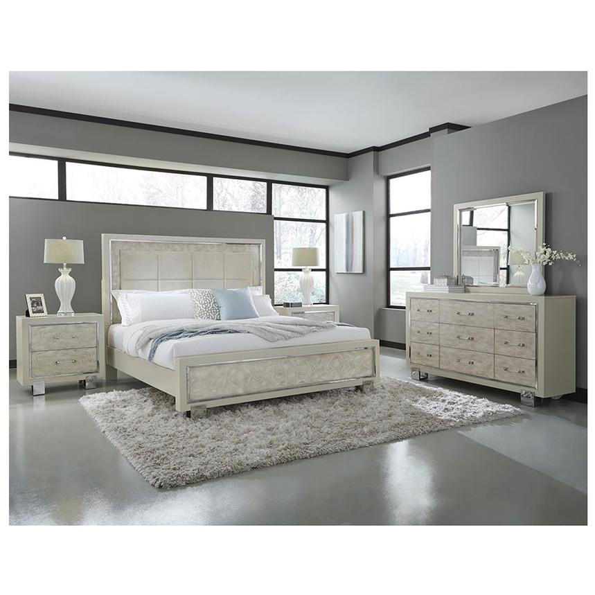 Cydney King Panel Bed King Bedroom Sets Bedroom Bed Design Apartment Bedroom Decor