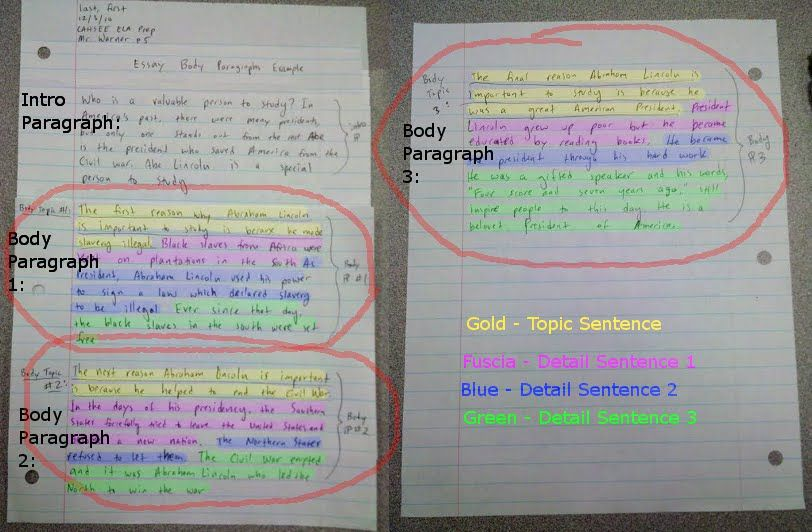 Chunking Expository Writing Body Paragraphs Expository Writing Paragraph Essay