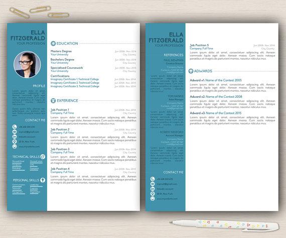 Plantilla De Curriculum Vitae Word Cv Word Por Topbusinesstemplates