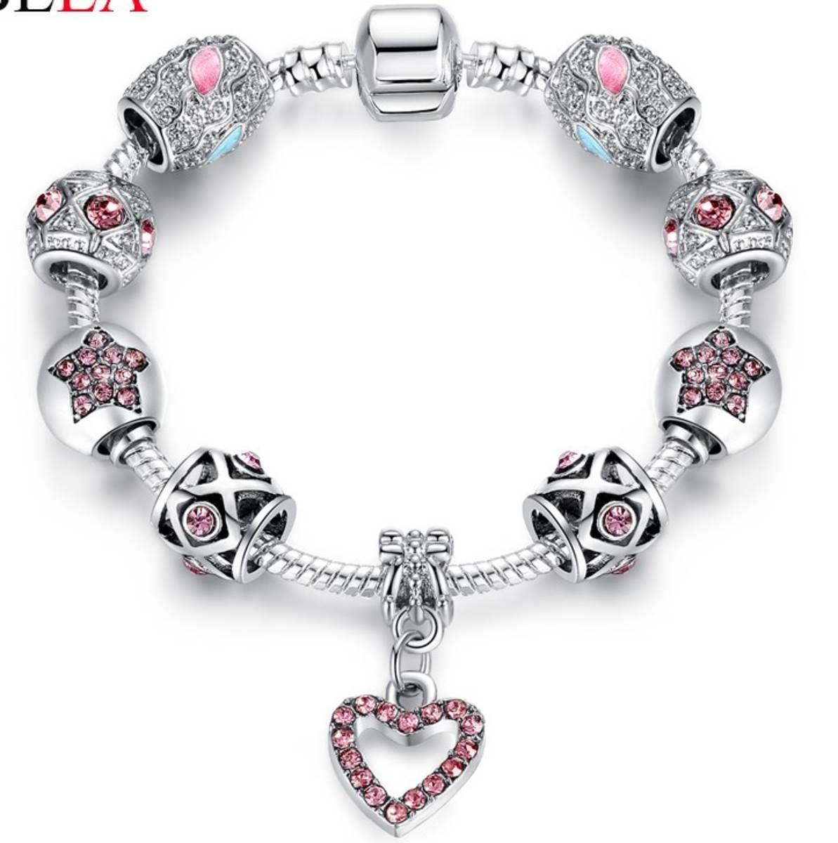 caf797db01f pulseira berloques vivara life banhado prata 925 - bijoux sem marca ...