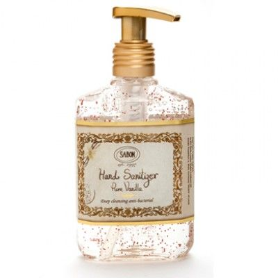 Sabon Pure Vanilla Hand Sanitizer Hand Sanitizer Liquid Soap