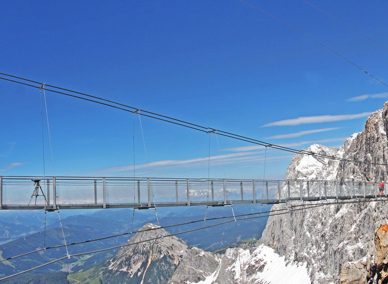 The Dachstein suspension bridge   a fascinating glacier ...